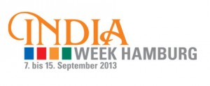 Logo der India Week Hamburg 2013