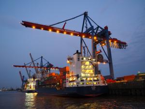Hamburg Hafen (Bild: R. Tiwari, 2020)